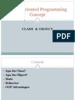 1-Class & Object