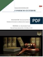 Ley de Comercio Exterior Trabajo