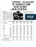 Hbi Use in Foundry