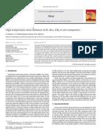 2010-Wear-High Temperature Wear Behavior of Al–4Cu–TiB2 in Situ Composites