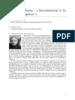 Morin E 1990 Introduction Pensee Complexe