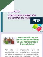 Conducción y Dirección de Equipos de Trabajo