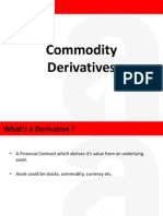 Commodity Derivatives