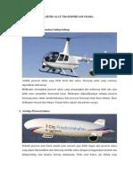 10 Jenis Alat Transportasi Udara