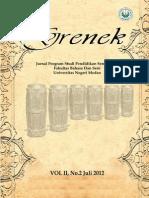 Grenek E-Jurnal Vol I, No. 2 Juli 2012