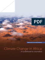 Climate Change Handbook for African Journalists UNEP 2014