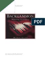 Backgammon Winning Strategies - Robin Clay