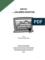 Diktat Manajemen Investasi