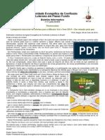 Boletim Eletrônico Comunidade Passo Fundo junho 2014