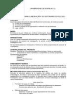 Protocolo Software Educativo Unipue