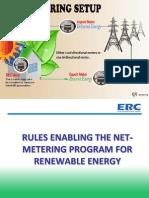 Rules Enabling TheNet-Metering Program For Renewable Energy