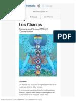 Los Chacras - Blog Kinesiología & Antiterapia