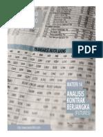 Materi 14 Analisis Kontrak Berjangka