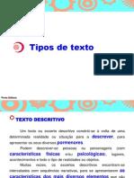 Os Diversos Tipos de Texto