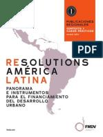 Panorama e instrumentos para el financiamiento del desarrollo urbano