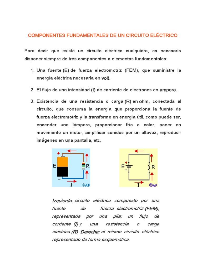 Circuito Electrico : Circuito eléctrico en paralelo resuelto esotecno de paco