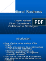 Ch14 Direct Investment and Collaborative Strategies