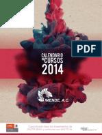 CALENDARIO IMENDE 2014