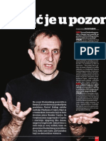 Intrevju, Vladimir Cvejić