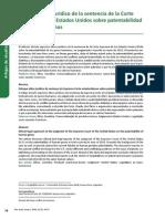 Enfoque Ético Jurídico de la Sentencia de la Corte Suprema de los EEUU sobre Patentabilidad de Genes Humanos