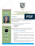 Certificacion Internacional en Coaching Personal y Empresarial Version Final
