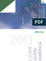 OEI - InformeMiradas2013
