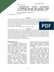 Penetuan Kandungan Unsur Aluminium Mangan, Dan Silikon Dalam Air Sungai Code Trehadap Waktu Sampling Dengan Metode AANC