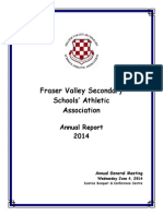 fvssaa annual report for 2014