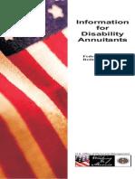 FERS Disability Annuity