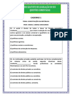 Caderno i - Curso Gratuito Legislacao Do Sus - Concurso Susam 2013