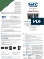 B-UPR505-706-906 Manual