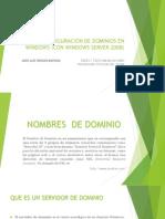 Configuracion de Dominios en Windows (Con Windows
