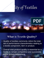 7 Quality of Textiles