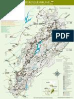Mapa desplegable