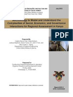 Complex Systems Aproach for Kenya