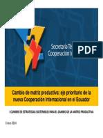 Cambio de matriz productiva - COOPERACION INTERNACIONAL.pdf