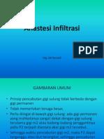 Anastesi Infiltrasi ppt