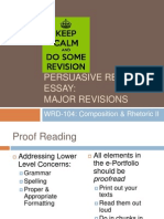 SQ14 WRD104 Revisions