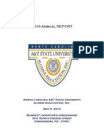Annual Report of the North Carolina Agricultural and Technical State University Alumni Association, Incorporated