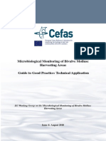 CEFAS Microbiological Monitoring Bivalve Mollusc Harvesting Area Guide Good Practice