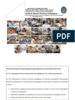 Buenas Prácticas Pedagógicas Comunicación IFD UNPRG B