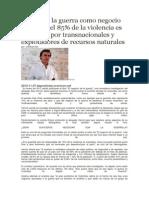 Colombia La Guerra Como Negocio Redondo