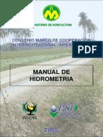 Material Hidrometria