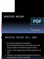 Specific Relief