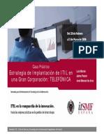 Estrategia de Implantacion de ITIL en Una Gran Corporacion TELEFONICA - Copia
