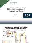 12. Filtracion Secrecion y Reabsorcion Renal