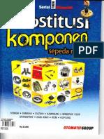 Otomotif Substitusi Komponen Sepeda Motor