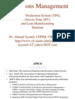 Handout_TPS & Lean