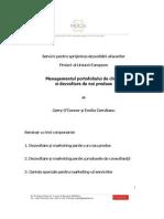 Manual Management Portofoliu Clienti