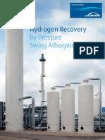 Hydrogen Recovery by PSA